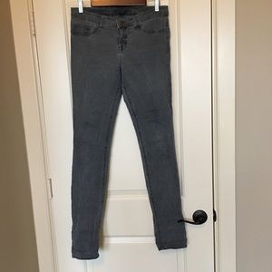 J Brand gray low rise pencil leg vintage pfd sz 30